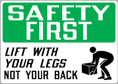 Preventing Injury with Safe Lifting Practices